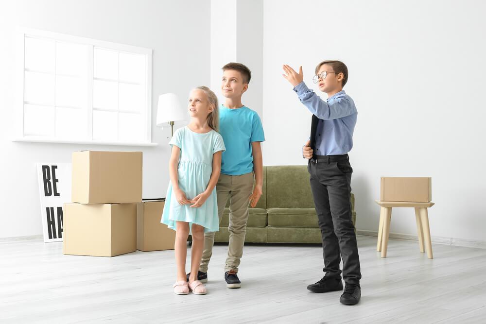 enfant vendu appartement